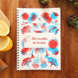 Carnet – Mes recettes de la mer