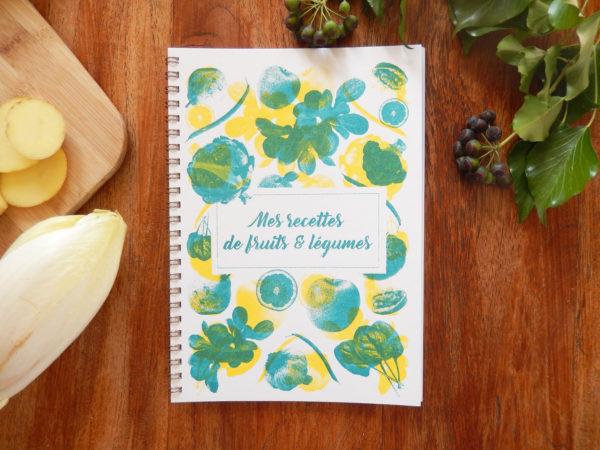 Carnet – Mes recettes de fruits et légumes
