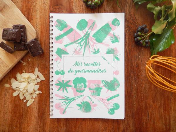 Carnet – Mes recettes de gourmandises