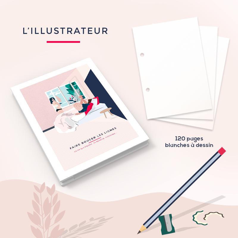 L'illustrateur – Le carnet à dessin