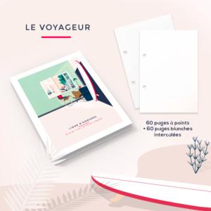 Le voyageur – Le carnet de voyage